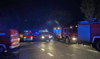 Śmiertelny wypadek w gminie Zgierz. Na miejscu wszystkie służby ratunkowe
